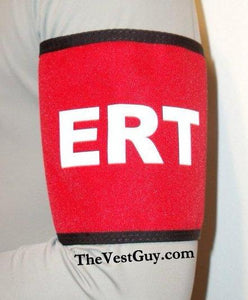 Custom red ERT armband by TheVestGuy