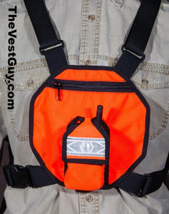 High Visibility FRS-GMRS radio chestpack