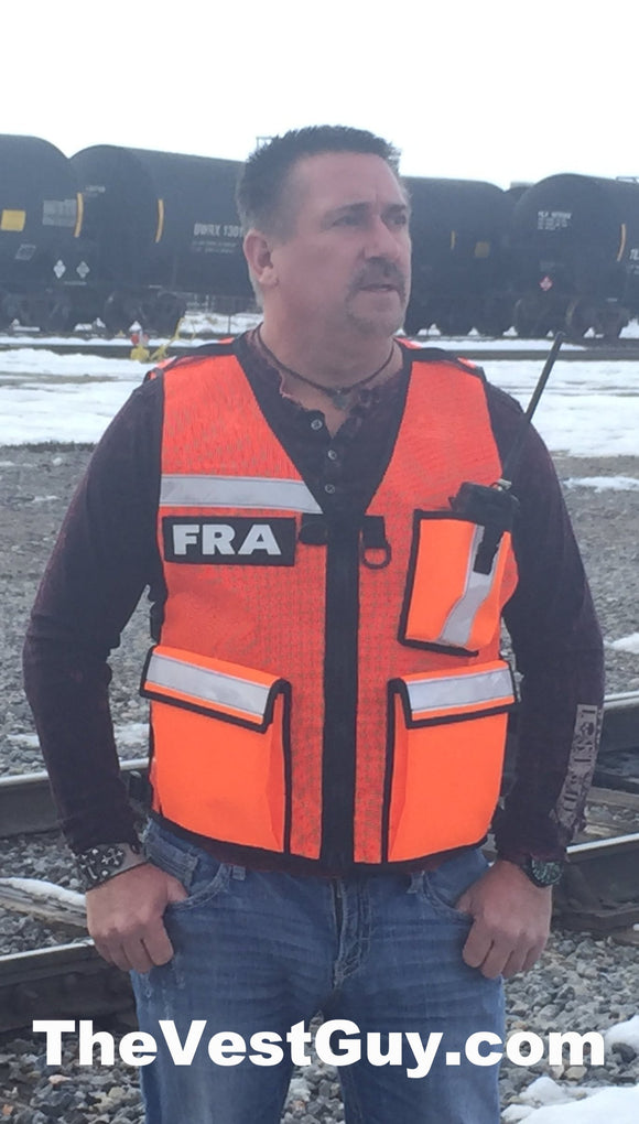 FRA Safety Reflective Vest