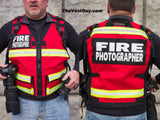 Fire Photography Vest - Firefighter