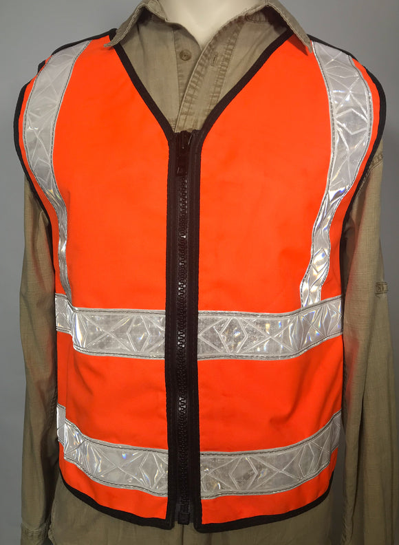 Florescent Orange ANSI II Reflective Vest