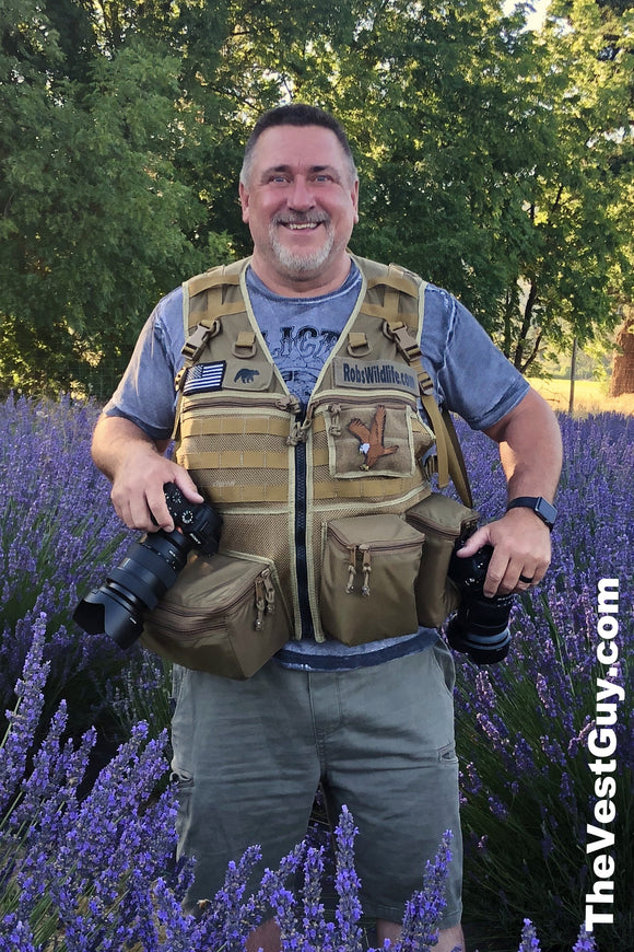 Landscape photography photo vest by The Vest Guy