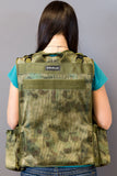 M&M Travel Photography Vest / Custom Camo Photo Vest