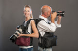 Custom photography vests made in the USA by TheVestGuy.com