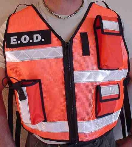 Mesh Reflective Vest - High Visibility EOD
