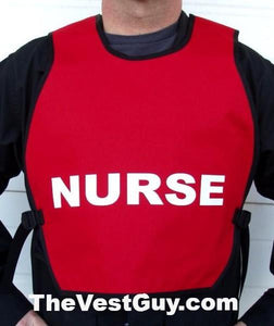 Red Nurse Safety Vest