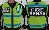Radio Pocket Mesh Safety Vest