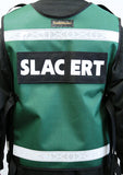 EMS vest with radio pocket in mesh or material