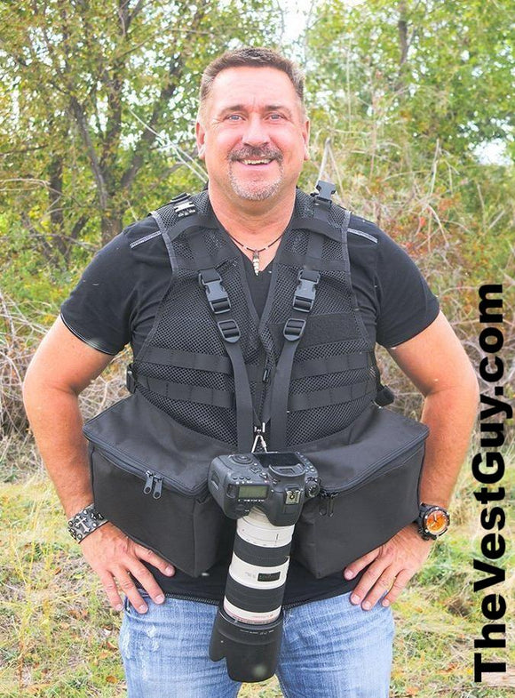 Traveler Photo Vest - Photography Vest by The Vest Guy