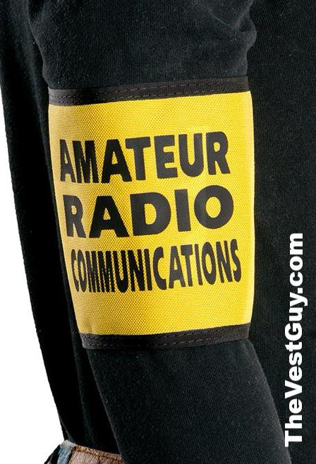Amateur Radio Communications armband