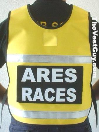 Ares Races Reflective Pullover Vest