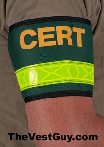 CERT armband with reflective tape