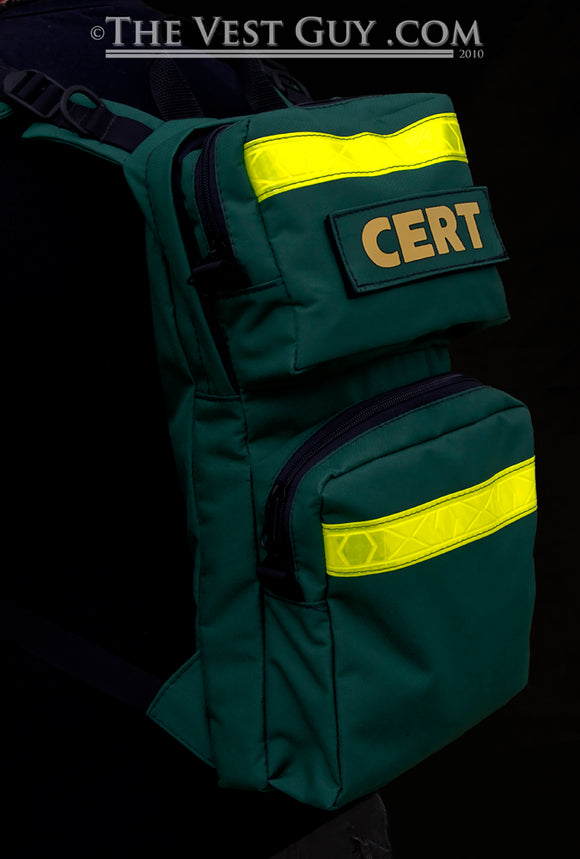 CERT Back Pack (D) with Reflective