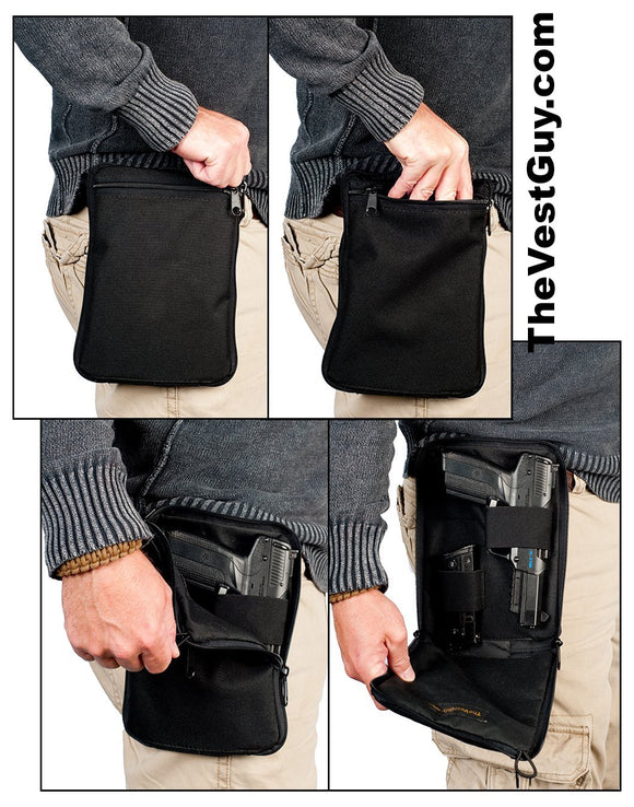 Concealment Hip Pouch - Concealed carry pouches