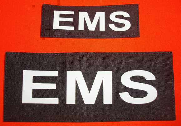 EMS Velcro Name Tag