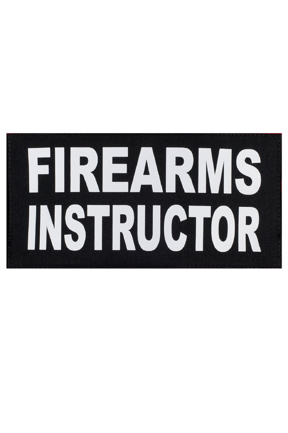 Firearms Instructor Name Tag / Custom ID Tags