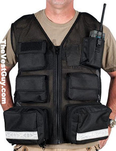 Black Flight Medic Mesh Vest Pocket