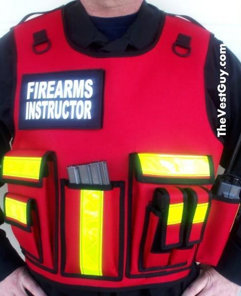 Custom Firearms Instructor Tactical Vest Carrier