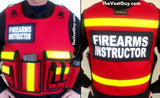 Firearms Instructor Plate Carrier Vest