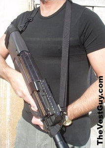 Black p90 sling for the FNP90 gun