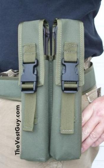 P90 double mag pouch belt loop