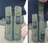 P90 belt loop double mag pouch