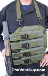 Custom P90 Chest Pack with mag pouches
