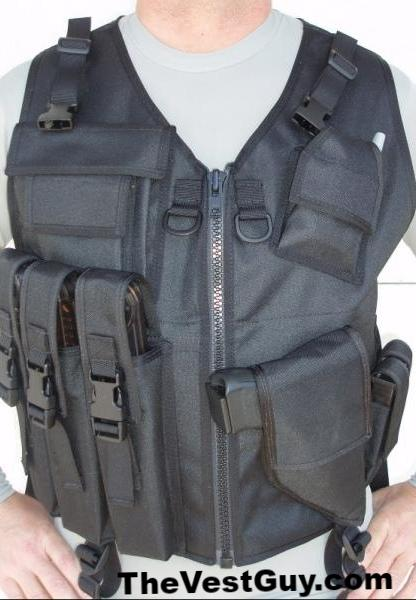 P90 Tactical Vest with holster