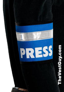 Custom PRESS reflective armband