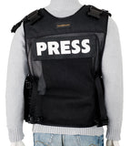 Custom Black Press Photography Vest