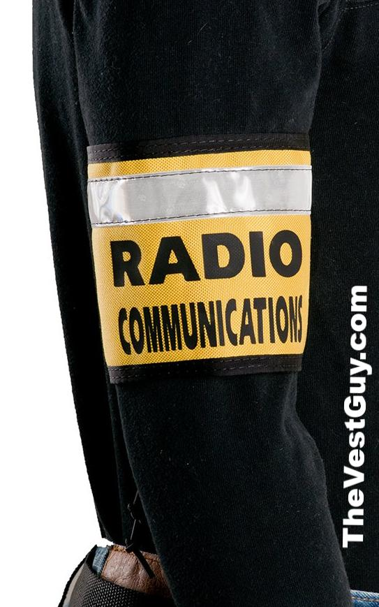 Custom Radio Communications armband