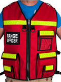 Reflective Range Officer Vest