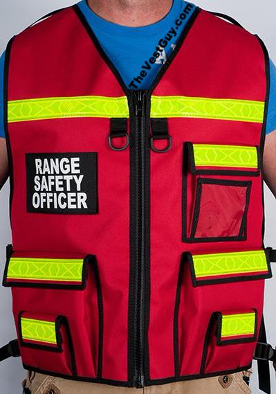 Range Safety Officer Vest