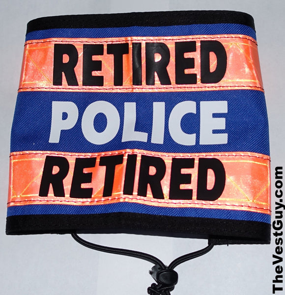 Retired Police armband with reflective