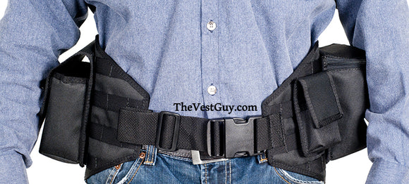 Black MOLLE photography belt