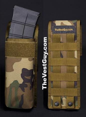Camo Saiga MOLLE single pouch