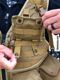 Photograhy vest with adjustable MOLLE pockets