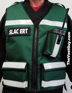Custom EMS Vest with reflective and radio pocket