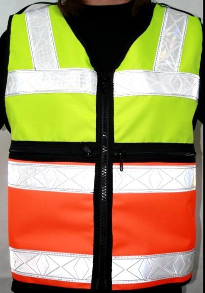 Two Tone ANSI II Reflective Vest by The Vest Guy