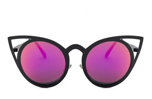 Women's Round Cat Eye Sunglasses