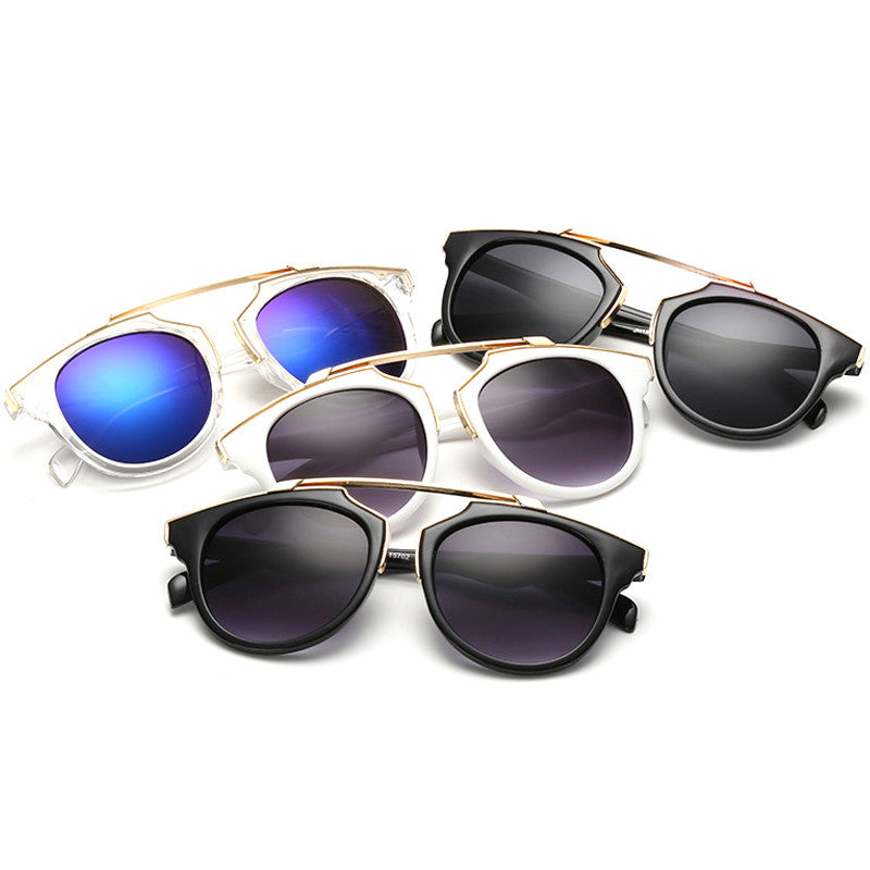 Women's Plastic Horizontal Connector Sunglasses