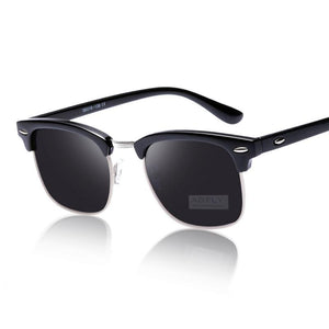 Men's Classic Half Frame Sunglasses