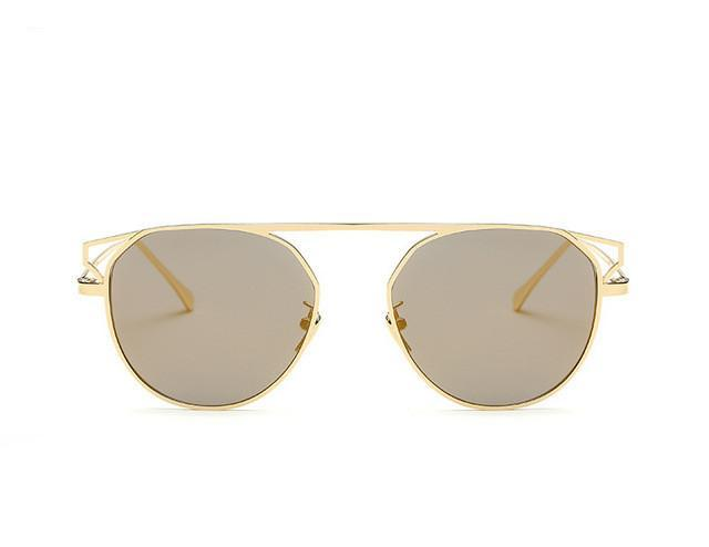 ROYAL GIRL Round Frame Sunglasses