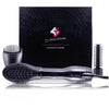 4-in-1 Interchangeable Blower Brush Set with Volumizing, Straightening, and Curling Attachments
