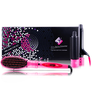 Deluxe 3 In 1 Styling Set - Pink - RoyaleUSA