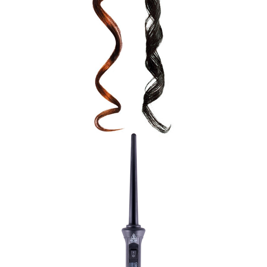 Royale Black Baby Curls 9mm Tourmaline Curling Wand - RoyaleUSA