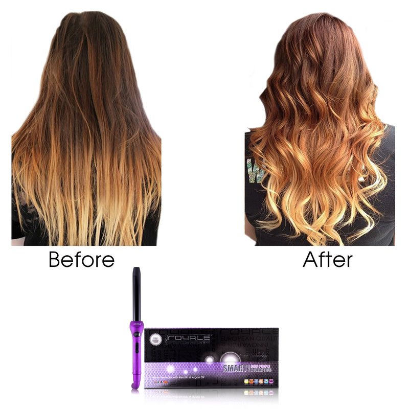 Royale Purple Lilac Cool Tip/Soft Touch Curling Wand 25MM