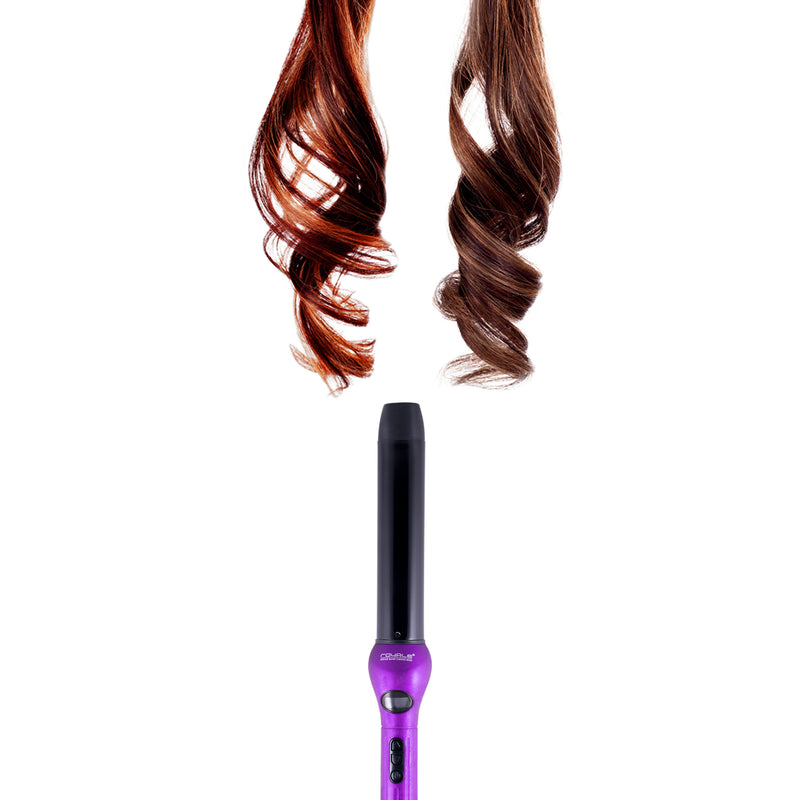 Royale Purple Lilac Cool Tip/Soft Touch Tourmaline Curling Wand 32MM - RoyaleUSA