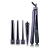 Flat Iron/Curling Wand Duet Set - Black - RoyaleUSA