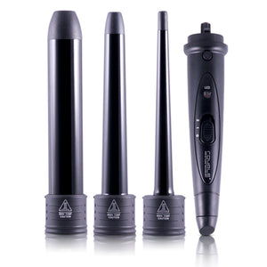 Royale Black Flat Iron/Curling Wand Duet Set
